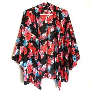 F21 floral kimono